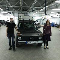 Семья из Мюнхена на Lada 4×4